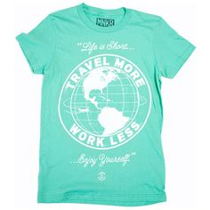 Travel More Tee