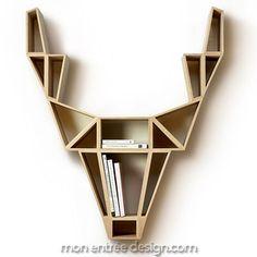 Deer Shelf Chêne BEdesign, Etagères