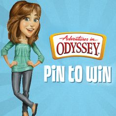 Pin to win $100 worth of Adventures in Odyssey to get the faith-filled fun started this summer! Click to enter on our Facebook page #sweepstakes #pintowin