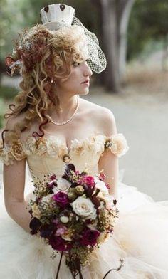 Victorian Wedding Bride
