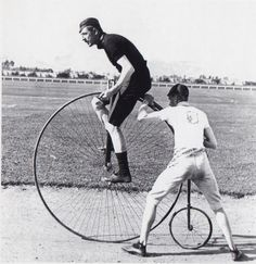 Pinner writes: Fred Wood, 'Champion Cyclist of the World' c1886. He was my grandfather's uncle.