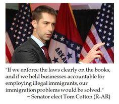 Tom Cotton on Immigration