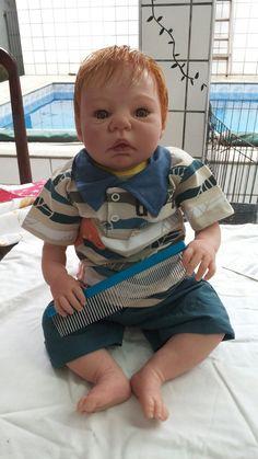 Pin Reborn Bebê Reborn Bebê Quase Real Boneca Real Bebês Reborn On