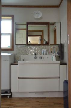 リクシルのピアラで造作洗面台を考えた〜WEB内覧会(その後2年半経ちました) | 家具職人の(ヨメの)北欧シンプルなマイホームへの道