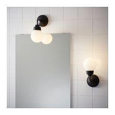 IKEA - VITEMÖLLA, Applique, , Lumière diffuse procurant un bon éclairage général dans la pièce.Flexible : peut être monté avec la lumière dirigée vers le haut ou vers le bas.