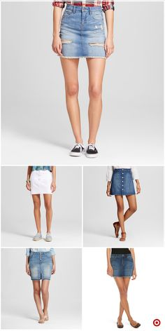 Shop Target for jean skirts you will love at great low prices. Free shipping on orders of $35+ or free same-day pick-up in store.