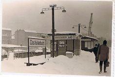 Winter 1968-69 Bahnhof Charlottenburg