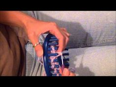 Flat Bind Off or Flat Cast Off on a Knifty Knitter Knitting Loom - YouTube