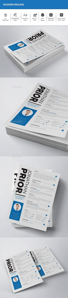 Free Resume Template Brand ID - 5 Colors Resume cv and Template - free resume maker and print