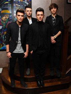 George Shelley Photos - JJ Hamblett, Jaymi Hemsley, George Shelley and Josh Cuthbert of Union J attend the Union J Fragrance Launch at The Sanctum Hotel on September 2014 in London, England. - Union J Fragrance Launch Josh Cuthbert, Justin Bieber Music, George Shelley, Save The Last Dance, 1d And 5sos, Pinterest Popular, The Vamps, Little Mix, Music Lovers