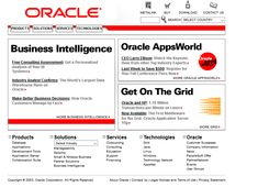 Look at how Oracle website looked in 2003 and travel with us through the history of web design. Business Intelligence, Design Museum, Keynote, Timeline, Web Design, Website, Design Web, Website Designs, Site Design