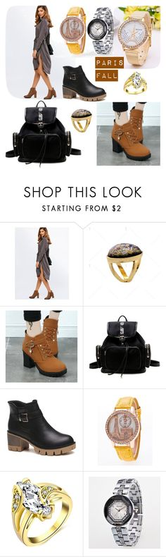 """Paris fall autumn fashion look  style"" by beanpod ❤ liked on Polyvore"