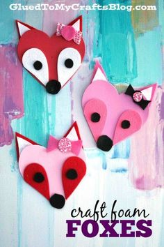 Easy Valentine Crafts for Kids – DIY Projects to Try This Year! Valentine's Day is not only for us, adults. It's a great time for easy Valentine crafts for kids and DIY projects you can make together! Valentines Bricolage, Valentine Crafts For Kids, Holiday Crafts, Kids Valentine Crafts, Valentine Ideas, Valentines Crafts For Kindergarten, Valentines Sweets, Spring Crafts, Valentine's Day Crafts For Kids