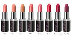 BeautifullLIPS Lipsticks - ALL - each color family has 2 lipsticks to match! Which is your favorite? Lipstick Collection, Women Lifestyle, Flirting, Affair, Hair Makeup, Make Up, Beauty, Color, Vintage