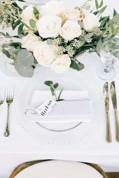 Al fresco table setting: http://www.stylemepretty.com/california-weddings/silverado/2016/05/10/whimsical-al-fresco-vineyard-wedding/ | Photography: Jenna Bechtholt -  http://jennabechtholtphotography.pixieset.com/
