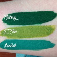 ★★★★★ Jealousy Matte Liquid Lipstick  by Makeup Monsters Cosmetics - Review: Jealousy by Makeup Monsters Cosmetics is long lasting, applies beautifully, and is very comfortable to wear. It's got high pigmentation and I absolutely adore it.