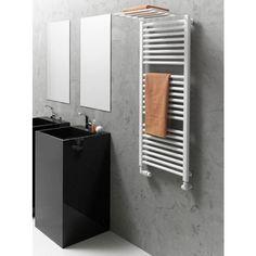 Nowoczesny grzejnik łazienkowy. Grzejniki dekoracyjne do modnej łazienki. #grzejnik #łazienkowy #aranzacje