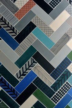 graphic tile / ornamenta / italy / design milk