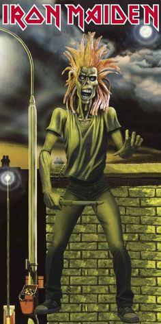 Iron Maiden Debut Eddie the Head! http://www.pinterest.com/TheHitman14/eddie-of-iron-maiden-fame/