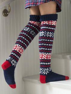 Long Knit Wool Socks for Novita Teddies Wool Socks, Knitting Socks, Hand Knitting, Knitting Patterns, Crochet Slippers, Knit Crochet, Argyle Socks, Leg Warmers, Mittens