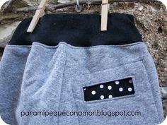 Para mi peque con amor: Pantalón corte cruzado y botones. Talla 110 - 115 cm. (4 - 5 años). Patrón y tutorial.
