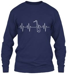 Discover Saxophone Heartbeat Ltd. Edition Sweatshirt, a custom product made just for you by Teespring. Saxophone Music, Tenor Sax, Band Mom, Band Nerd, Music Memes, Music Humor, Cool Shirts, Funny Shirts, Marching Band Shirts