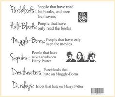 Harry Potter taxonomy... Funny