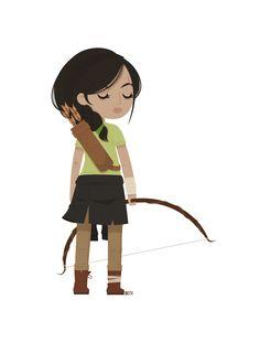 Katniss - The Hunger Games
