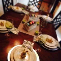 Easter Tablescape 2014