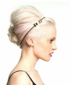 Toni & Guy Art Team Up Do - gorgeous colour, simplistic, on trend hair.