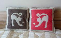 Vankúšiky pre milovníkov mačičiek, a nielen pre nich :-)