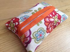 Pocket Tissues Pouch | Travel tissue case | Fabric Kleenex Cozy | Handmade in UK  | Purse size tissues included | Gift for women | Xmas gift by ShabbySheUK on Etsy