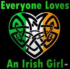 Everyone Loves An Irish Girl! #ilbi #irish #ireland