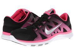 Nike Flex Supreme TR II Black/Hyper Pink/Metallic Silver - Zappos.com Free Shipping BOTH Ways