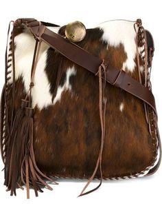 whipstitch artisanal hobo shoulder bag