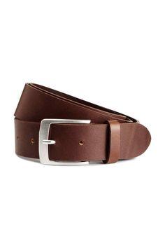 Cinturón de piel | H&M