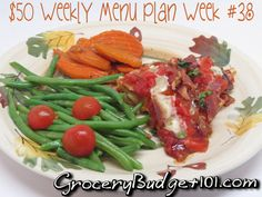 $50 Weekly Menus from GroceryBudget101.com