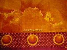 African Tanzania Nida Kanga Khanga Sarong /Fabrics For Dress Bags,Skirt making/Craft Making Fabrics/ Kanga Lesso/Tissues Africain