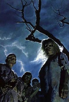 Artwork: undead by fantasy artist Robh Ruppel. See more artwork by this featured artist on the fantasy gallery website. Horror Posters, Horror Comics, Arte Horror, Gothic Horror, Dark Fantasy Art, Dark Art, Zombies, Zombie Art, Wow Art