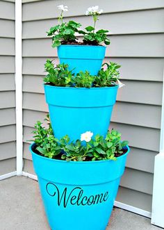 15 DIY Planters For Your Front Porch