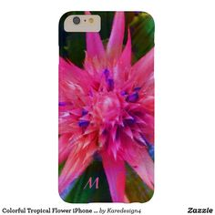 Colorful Tropical Flower iPhone 6/6S Case