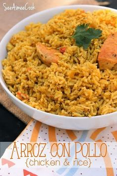 Arroz con Pollo (Chicken and Rice) | See Aimee Cook