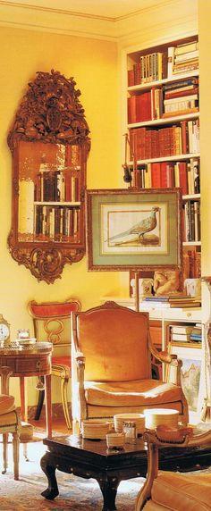 The golden world of Anthony Hail/ Jacqueline Kennedy Onassis' NYC apt.