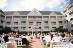 Kait   Scott : Walt Disney World Yacht Club Gazebo Wedding