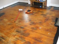 Painted Wood Floors Will Liven Up Your Home: How To DIY | Painted Wood  Floors, Painted Wood And Homework