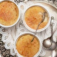 Vegan Creme Brulee with cashew butter and coconut
