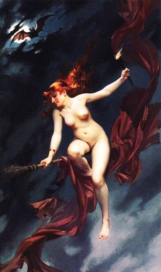 """ Luis Ricardo Falero- The Witches Sabbath, 1880 """