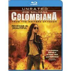 Colombiana. Zoe Saldana, Lennie James. 4/5 Stars