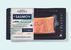 Auberge Handfield on Packaging of the World - Creative Package Design Gallery Types Of Packaging, Cool Packaging, Food Packaging Design, Packaging Design Inspiration, Brand Packaging, Branding Design, Food Branding, Packaging Ideas, Label Design