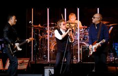The Who and special guest Bruce Springsteen at the MusiCares MAP Fund Benefit at Best Buy Theatre in NYC May 28. (John Davisson) #TheWho #Bruce #Springsteen #MusiCares #Pollstar